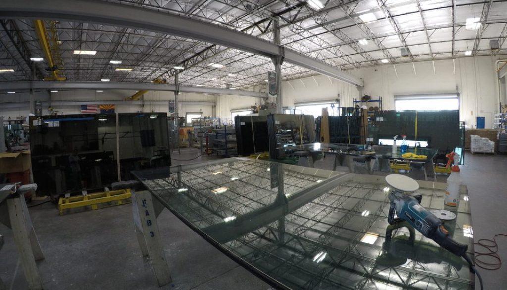 Glass Fabrication Debris Restoration and Resurface   Glass Restoration Guru